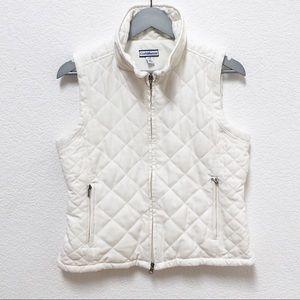 Croft & Barrow women's petite Small white vest